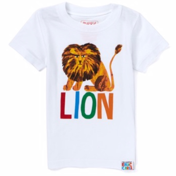 Other - Eric Carle 100% Cotton Lion T-shirt - Size 5T NWT